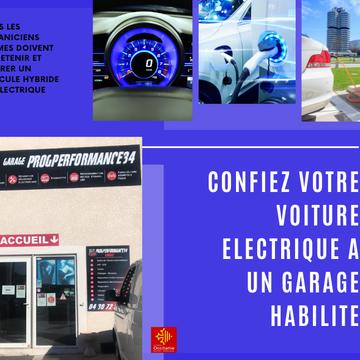 L'entretien d'un véhicule hybride ou électrique dans un garage habilité proche de Montpellier
