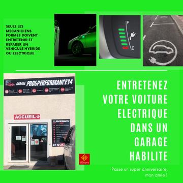 Entretenirvotre véhicule hybride et électrique est aussi important que l'entretien d'un véhicule thermique