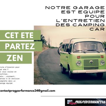 Progperformance34, un garage équipé et compétent pour entretenir et réparer votre camping car ou van