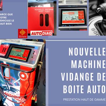 Votre spécialiste de la vidange de boite auto sur Montpellier
