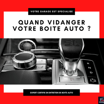 Faire entretenir et vidanger sa boite automatique auprès d'une garage certifié près de Montpellier (Occitanie)