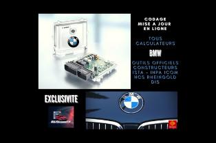 Service réparation, clonage et codage calculateurs de la marque BMW, Mini